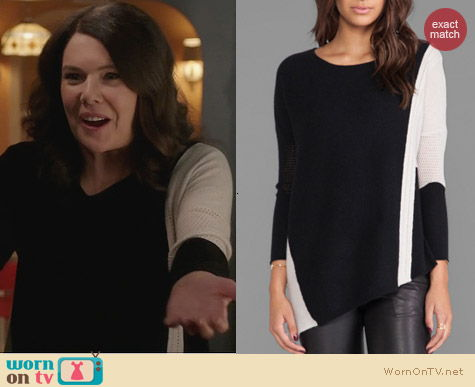 Parenthood Fashion: Velvet by Graham & Spencer Pauline Sweater worn by Lauren Graham