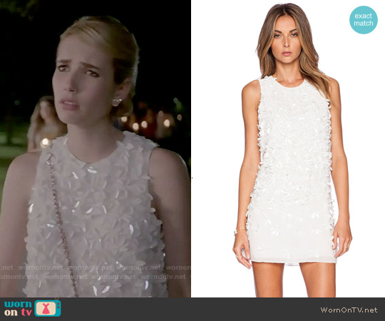 Parker Allegra Dress worn by Emma Roberts on Scream Queens