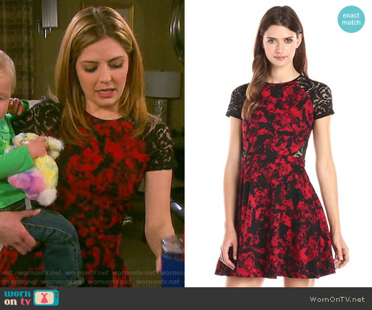 Parker Anabella Dress worn by Jen Lilley on Days of our Lives