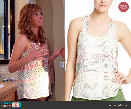 Parker Briar Top worn by Lisa Kudrow on The Comeback