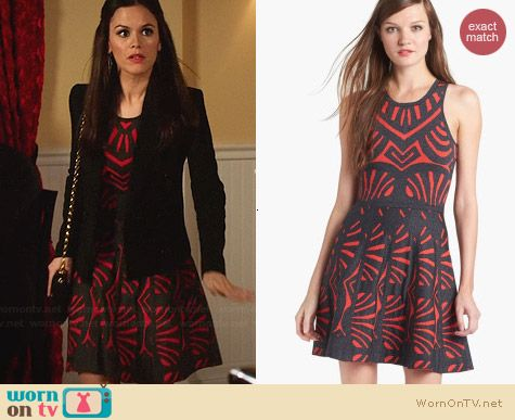 Parker Clarence Dress worn by Rachel Bilson on Hart of Dixie
