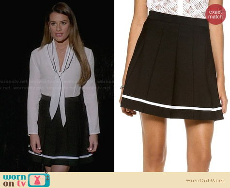 Parker Clio Skirt worn by Lea Michele on Glee