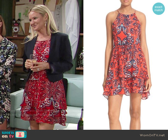 Parker Dax Dress worn by Sharon Case on The Young & the Restless