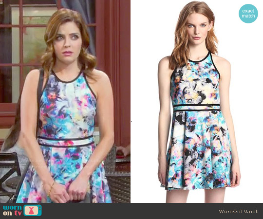 Parker Emmy Dress in Floreale worn by Jen Lilley on Days of our Lives