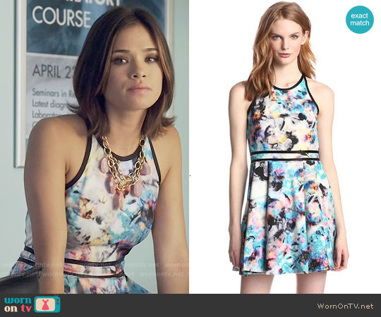 Parker Emmy Dress in Floreale worn by Nicole Gale Anderson on Beauty & the Beast