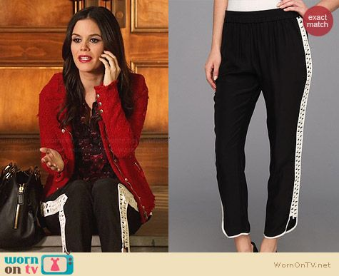 Parker Grayson Combo Pants worn by Rachel Bilson on Hart of Dixie