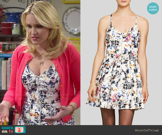 Parker Juliet Dress worn by Emily Osment on Young & Hungry