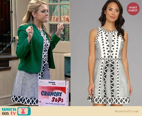 Parker Kyla Dress worn by Melissa Joan Hart on Melissa & Joey