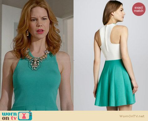 Parker Lulu Dress in Turquoise worn by Mariana Klaveno on Devious Maids