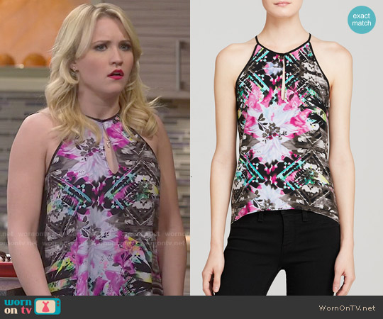 Parker Nassau Top worn by Emily Osment on Young & Hungry