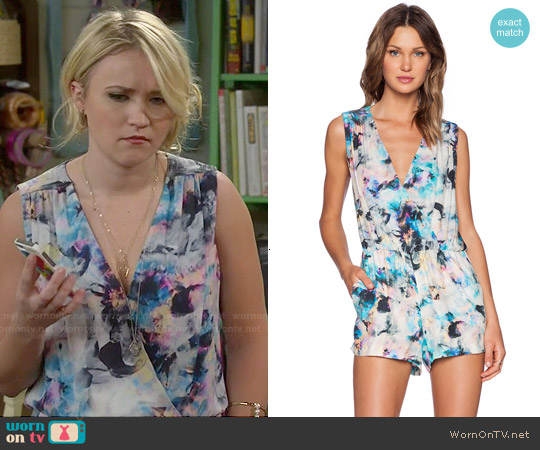 Parker North Jumper in Floreale worn by Emily Osment on Young & Hungry