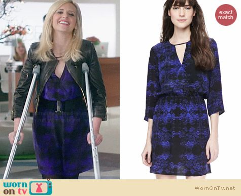 Parker Pennie Dress worn by Sarah Michelle Gellar on The Crazy Ones