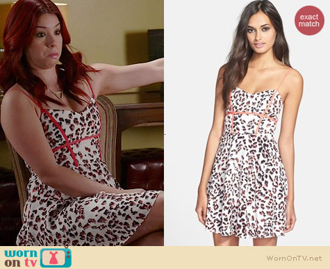 Parker Roland Dress worn by Jillian Rose Reed on Awkward