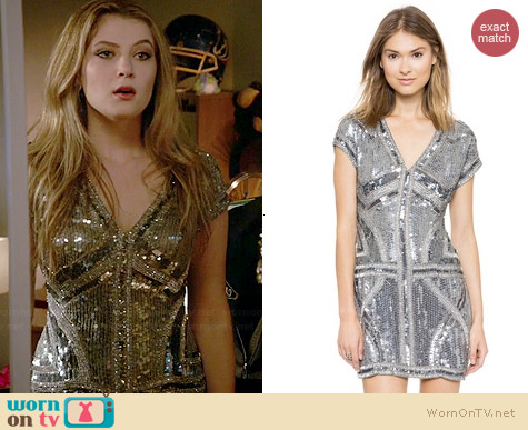 Parker Serena Dress worn by Zoe Levin on Red Band Society