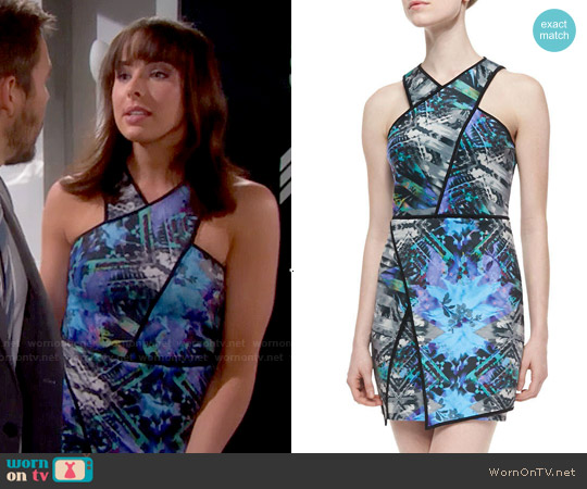 Parker Tobias Dress in Sumatra worn by Ashleigh Brewer on The Bold & the Beautiful