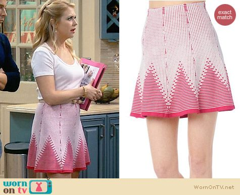 Parker Toccara Skirt worn by Melissa Joan Hart on Melissa & Joey