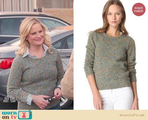 Parks & Rec Fashion: Rag & Bone Holst sweater worn by Amy Poehler