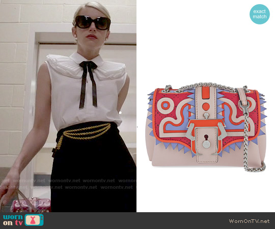 Paula Cademartori Kate Bag worn by Emma Roberts on Scream Queens