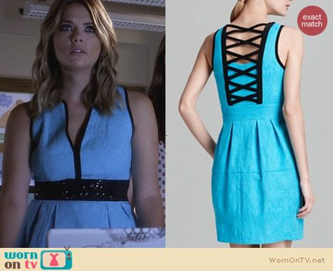 Fashion of PLL: Nanette Lepore Madrid Dress worn by Ashley Benson