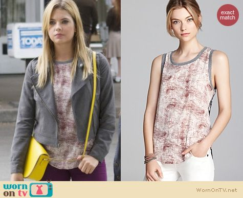 PLL Fashion: Patterson J Kincaid Iza Top worn by Ashley Benson