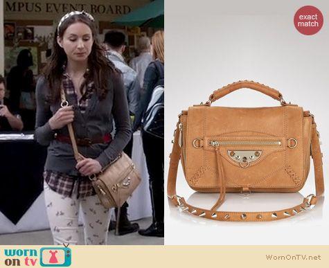 PLL Fashion: Sam Edelman Hugo messenger bag worn by Troian Bellisario