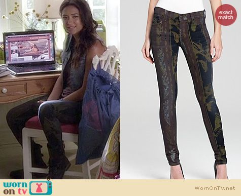 PLL style: Citizens of Humanity Avedon jeans in Beowulf worn by Shay Mitchell