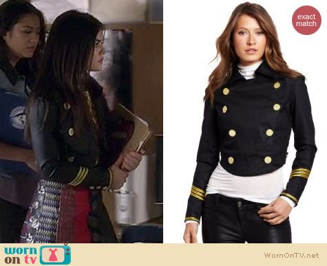 PLL Style: Vivienne Westwood for Lee 'Frieda' jacket worn by Lucy Hale