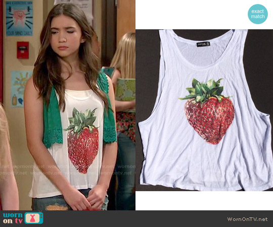 worn by Riley Matthews (Rowan Blanchard) on Girl Meets World