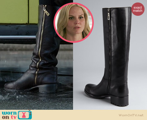 Prada Sport Leather Buckle Riding Boots worn by Jennifer Morrison on OUAT