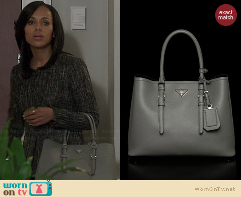 Prada Tote worn by Kerry Washington on Scandal