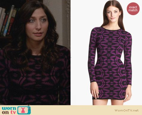 Presley Skye Body-Con Sweater Dress worn by Chelsea Peretti on Brooklyn Nine-Nine