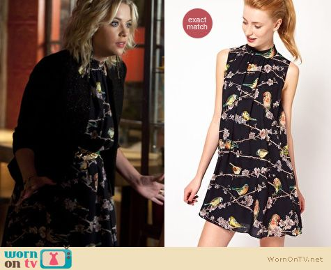 Pretty Little Liars Fashion: Madlin dress by Ted Baker worn by Ashley Benson