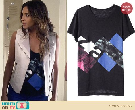 Proenza Schouler Graphic Tshirt worn by Shay Michell on PLL