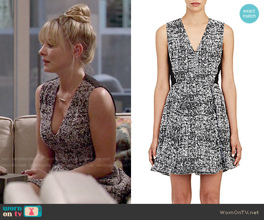Proenza Schouler Tweed Fit & Flare Dress worn by Kaitlin Doubleday on Empire