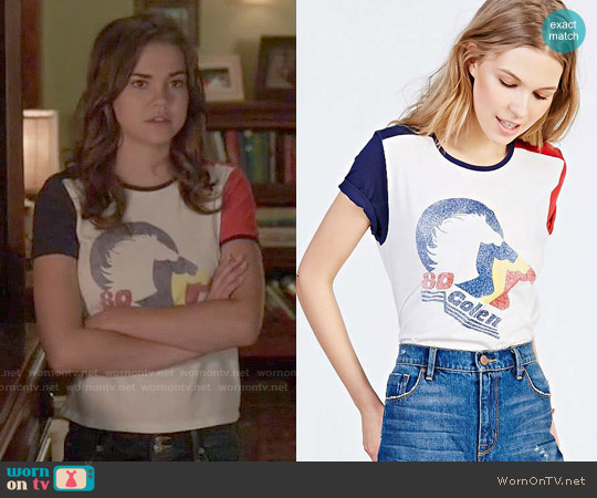 Project Social 80 Golden Tee worn by Maia Mitchell on The Fosters