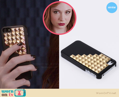 Pyramid Studded iPhone Cover used by Karen Gillan on Selfie