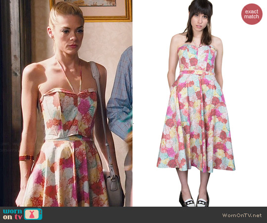 Rachel Antonoff Stacy Top & Jason Skirt worn by Jaime King on Hart of Dixie