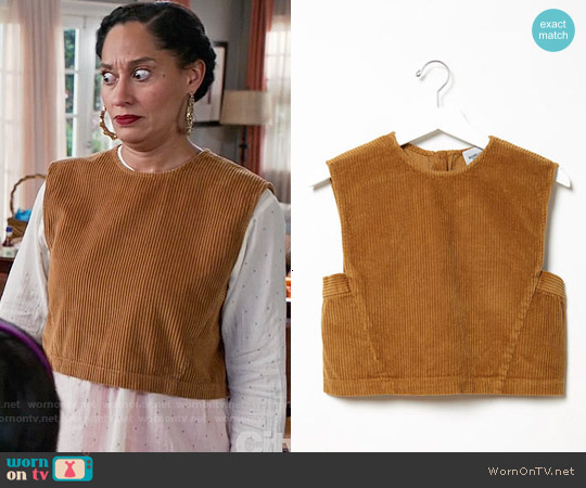 Rachel Comey Yana Top worn by Tracee Ellis Ross on Blackish