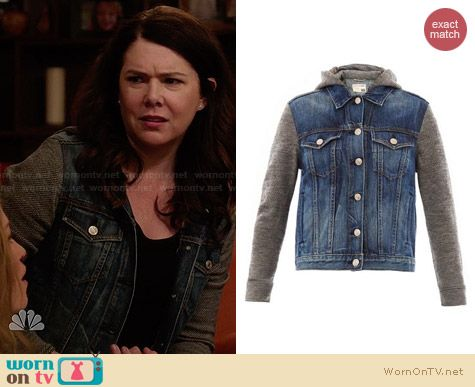 Rag & Bone Bradford Denim Jacket worn by Lauren Graham on Parenthood