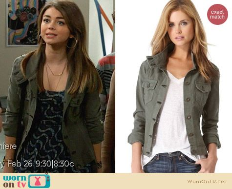 Rag & Bone Chamberlain Jacket worn by Sarah Hyland on Modern Family