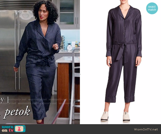 Rag & Bone Arthur Jumpsuit worn by Tracee Ellis Ross on Blackish
