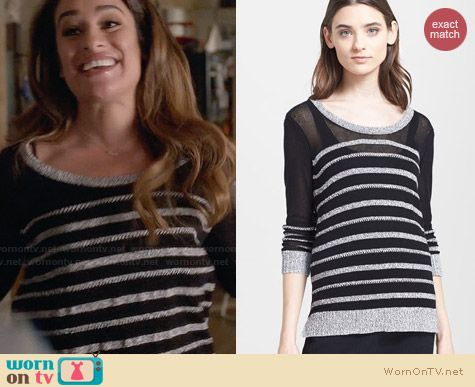 Rag & Bone Azra Pullover worn by Lea Michele on Glee