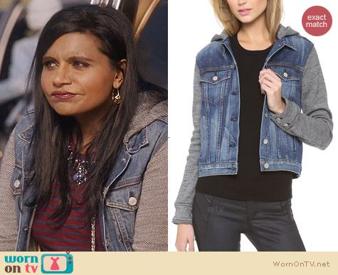 Rag & Bone Bradford Jacket worn by Mindy Kaling on The Mindy Project