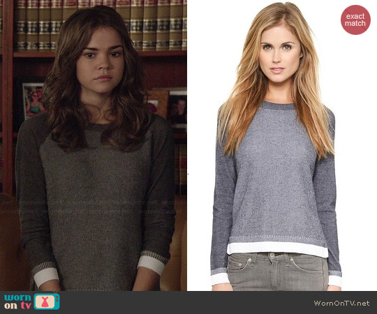 Rag & Bone Brenda Sweater worn by Maia Mitchell on The Fosters