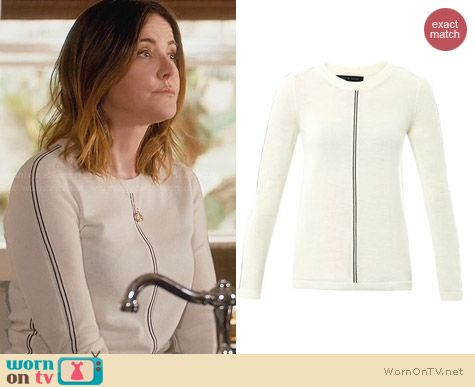 Rag & Bone Briana Sweater worn by Christa Miller on Cougar Town