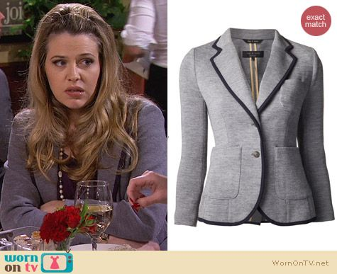 Rag & Bone Bromley Blazer worn by Majandra Delfino on FWBL