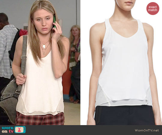 Rag & Bone Chieftain Tank worn by Rita Volk on Faking It