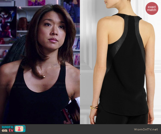 Rag & Bone Chieftain Tank worn by Grace Parks on Hawaii Five-O