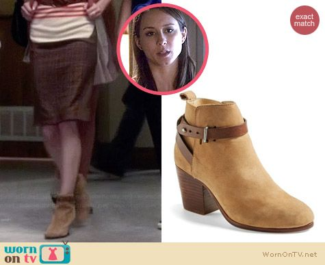 Rag & Bone Dalton Boot worn by Troian Bellisario on PLL