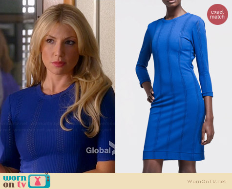 Rag & Bone Elsa Dress in Blue worn by Ari Graynor on Bad Teacher